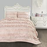 Lush Decor C43417P15-000 Belle 3 Piece Quilt