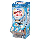 Coffee-mate 35170CT Liquid Coffee Creamer, French Vanilla Flavor 0.375 oz, 200 Creamers/Carton