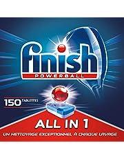 Finish: -30% sur le détergent lave-vaisselle Finish All in One Max -150 Pastilles