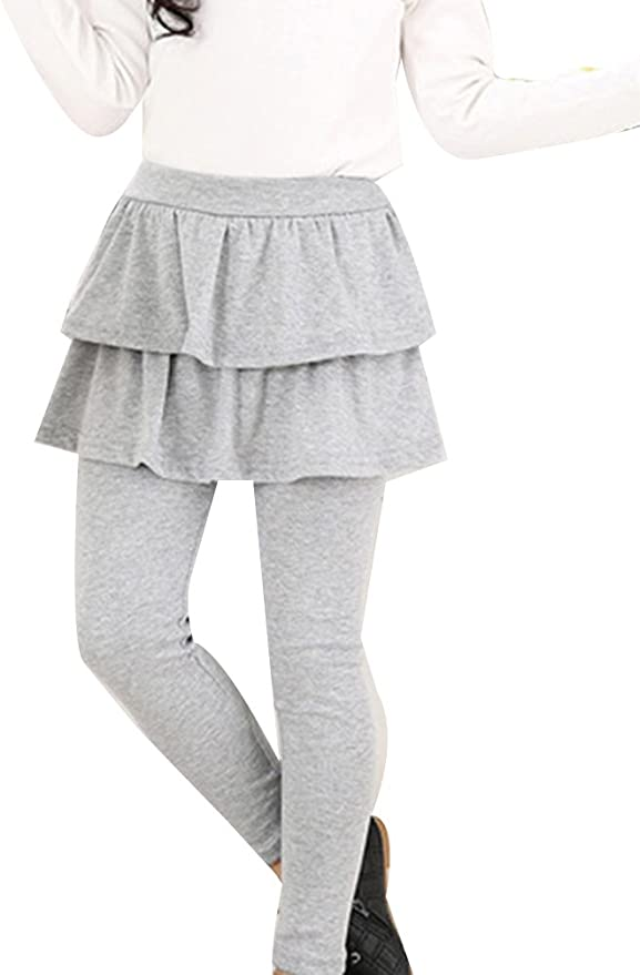 Guiran B/éb/é Fille Legging Jupe Pantalon Jupe Jambieres Enfant Chaud Couleur Unie
