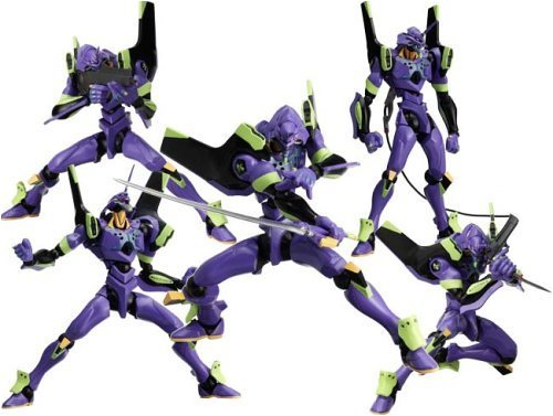 Neon Genesis Evangelion : EVA Unit 01 Revoltech Purple Action Figure