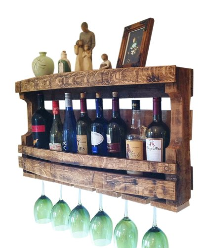 Napa Valley Reclaimed Wood Wine Rack by Great Lakes (Image #2)