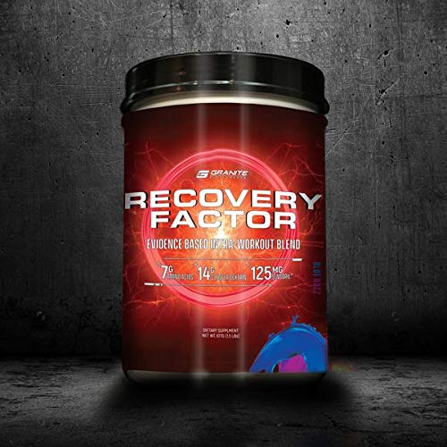 Granite Supplements Recovery Factor X Premium Intra-Workout Blend Blue Razz Blast 2 lb