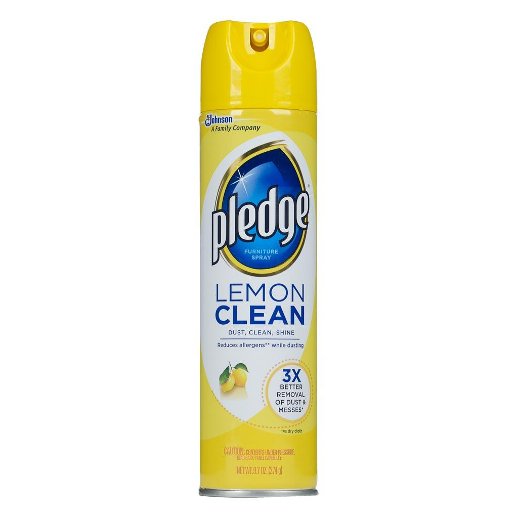 Lemon Clean Furniture Spray Dusts Shines And Protects For