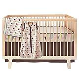 Skip Hop bumper-free Crib Bedding Set, 4-Piece (Pretty Pennant)