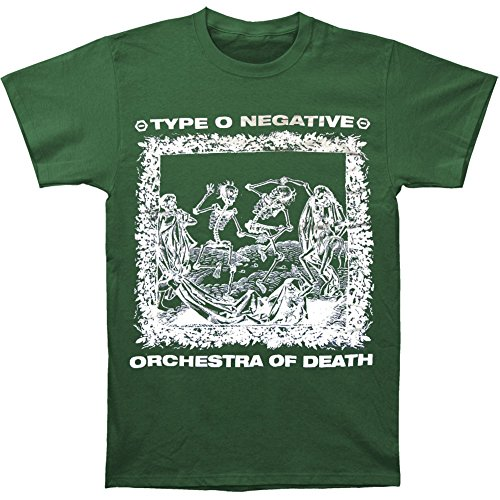 Type O Negative Men's Orchestra T-shirt Large Green
