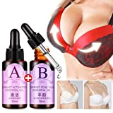 Essential Oils for Breast Enlargement,Vanvler 2PC Chest Lift Up Massage Chest Firm Essence Set (Colorful)