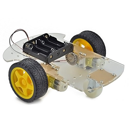 Makerfire® Arduino 2WD Motor Robot Car Chassis Kit with Wheel