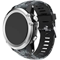 Halloween Hot Sale!!Replacement Bands for Garmin Fenix 5X,Natarura New Fashion Soft Silicone Quick Release Easy Fit Replacement Wristbands Sports Watch Band Strap for Garmin Fenix 5X GPS Watch 26mm