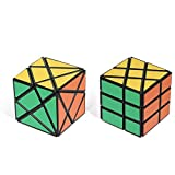 Playwin Fluctuation Angle and Wheel Puzzle Cube Collection, Black