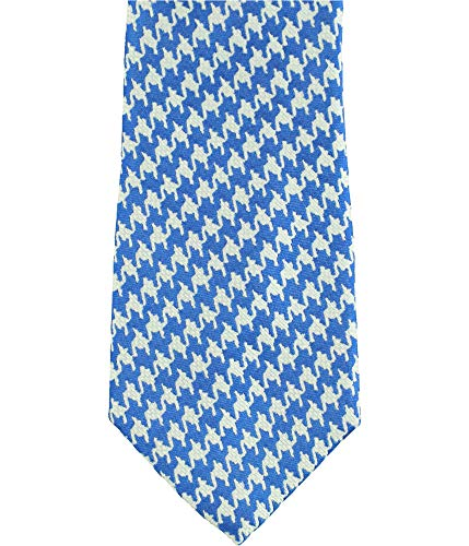 Sean John Men's Houndstooth Slim Tie (Blue, One Size)
