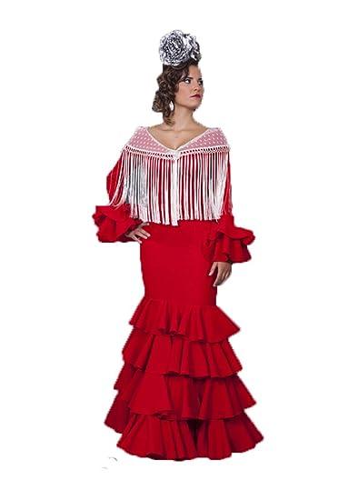 Traje DE Flamenca: Amazon.es: Ropa y accesorios
