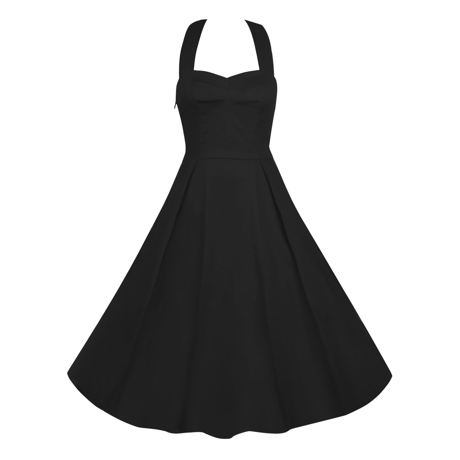 1950s 50s Costumes- Poodle Skirts, Grease, Monroe, Pin up, I Love Lucy iLover Classy Vintage Audrey Hepburn Style 1950s Rockabilly Swing Evening Dress $31.99 AT vintagedancer.com