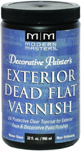 (Modern Masters DP612-32 Exterior Dead Flat Varnish, 32-Ounce)