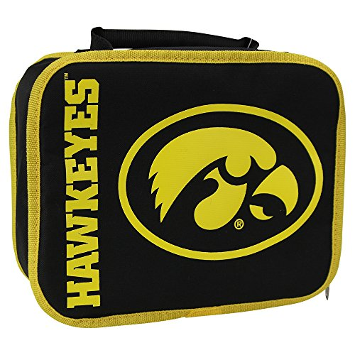 The Northwest Company NCAA Team Logo Sacked Lunch Box (Iowa Hawkeyes) from The Northwest Company