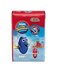 Huggies Little Swimmers Disposable Swimpants, Large, 17 Count (Character May Vary) BOBEBE Online Baby Store From New York to Miami and Los Angeles