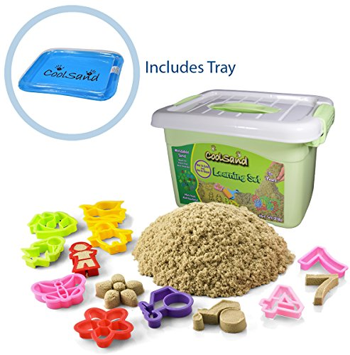 coolsand-deluxe-bucket-kinetic-play-sand-with-inflatable-sandbox-learning-set-edition