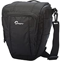 Lowepro Toploader Zoom 50 AW II Camera Case for DSLR and Lens, Black