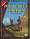 img - for The Investigator's Companion: A Core Game Book for Players (Call of Cthulhu roleplaying) book / textbook / text book