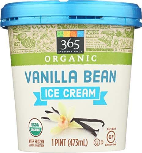 365 Everyday Value, Organic Vanilla Bean Ice Cream, 16 oz (Frozen)