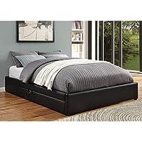 Coaster Queen Bed W/ Storage-Black