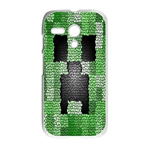 Classic Case MINECRAFT pattern design For Motorola G Phone Case