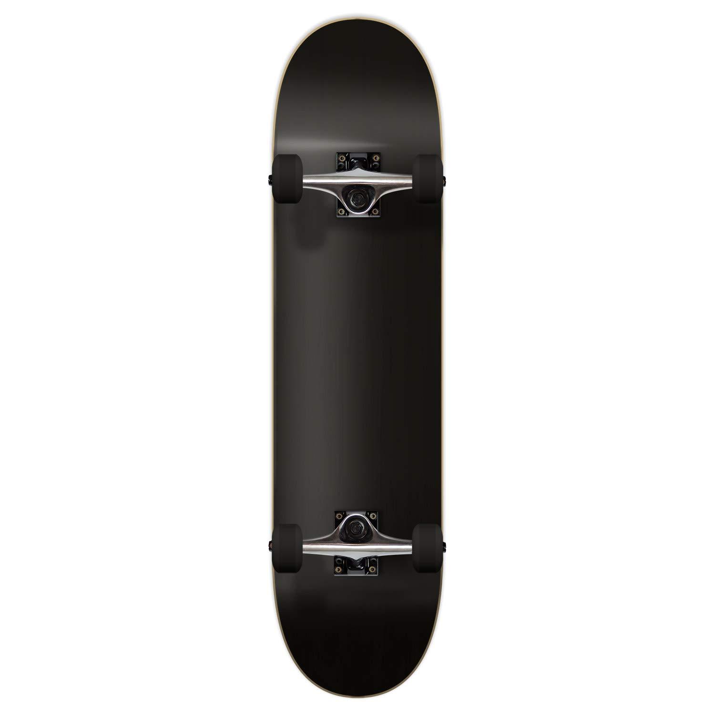Yocaher Blank Complete Skateboard 7.75'' Skateboards - (Complete 7.75'' Black)