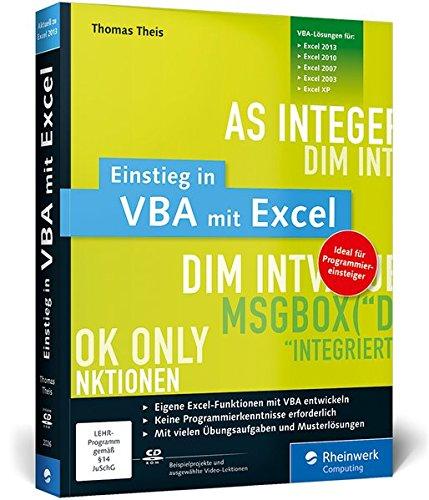 Einstieg in VBA mit Excel PDF