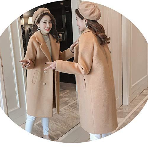Popolare Cammello Abbigliamento Di Cappotto Nizi Cappotto Azw Autunno Lunga Femminile Top Inverno Femmina Hepburn Lana Femminile Studenti Sezione E ZqwUxTx