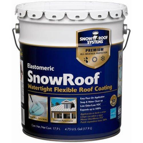 Coating Roof Reflective - KST COATINGS  KST000SRB-20 Reflective Roof Coating 4.75-Gallons