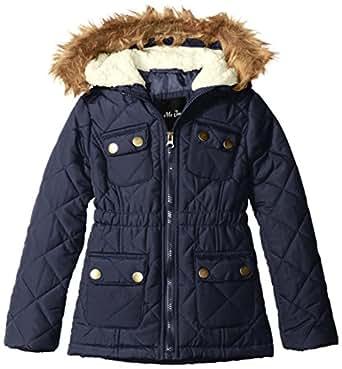 Amazon.com: MeJane Kids Girls' Anorak Winter Coat with