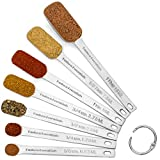 Hudson Essentials Stainless Steel Measuring Spoons Set for Dry or...