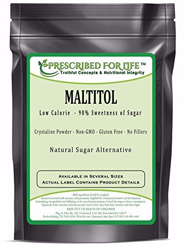 Maltitol - Low Calorie Natural Fine Granular Sugar Alternative - 90% Sweetness of Sugar, 12 oz
