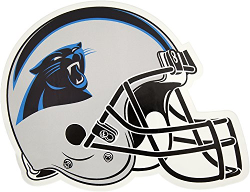 Applied Icon, NFL Carolina Panthers Outdoor Small Helmet Graphic Decal