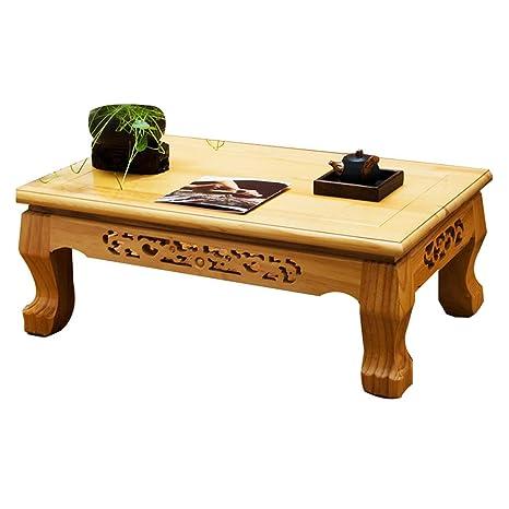 Amazon.com: Mesa baja de té, mesa de té, mesa de bahía ...
