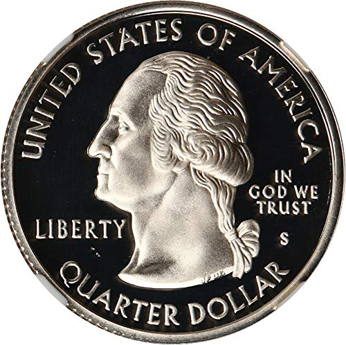 2004 S Statehood Quarters (Proof) Michigan Silver Quarter PR69 NGC DCAM
