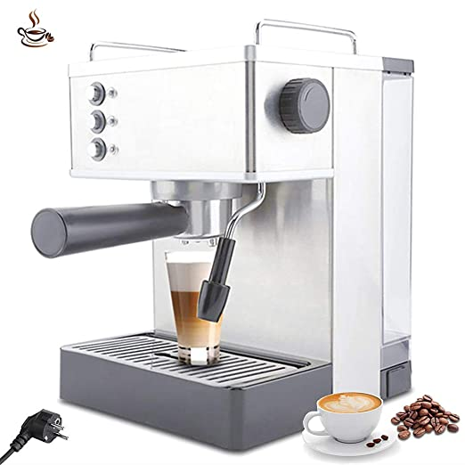Cafeteras, Cafetera espresso de acero inoxidable 2.2L Cafetera ...