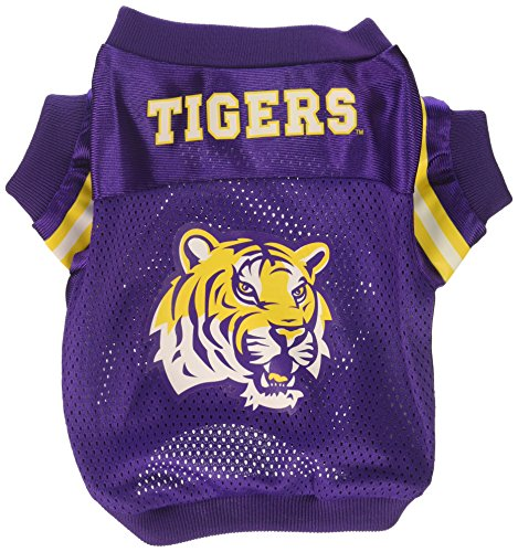 Sporty K9 Collegiate LSU Tigers Football Dog Jersey, X-Small