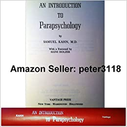 an introduction to parapsychology Available in the national library of australia collection author: irwin, h j (harvey j) format: book viii, 312 p : ill, ports 26 cm.