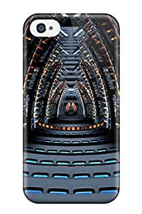 Belinda Lawson's Shop Tpu Fashionable Design Space Concert Hall Rugged Case Cover For Iphone 4/4s New