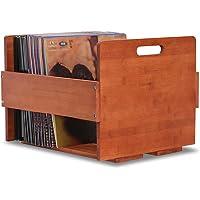 Vinyl Record Storage Record Crate - Storage Crate Box for LP |Album| Records - Bamboo vinyl record organizer Holder…