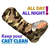 Leg Cast Cover - Green Camo (Adult 2XL/3XL)