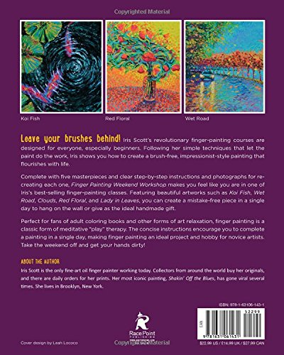 Amazon com: Finger Painting Weekend Workshop: A Beginner's Guide to