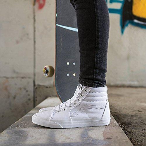 Zapatillas De Skate Vans Hombres Sk8-hi Mte (4 D (m) Us, Lona Blanca)