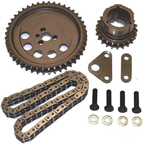 Cloyes 9-3659X3 Race Billet True Roller Timing Kit Standard Center Distance Incl. Billet Steel Cam Sprocket/3 Key Billet Steel Crank Sprocket/.250 True Double Roller Chain Race Billet True Roller Timing (Timing Chain Sprocket)