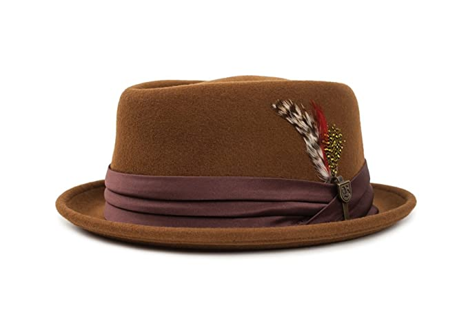 Men Brixton Mens Stout Ii Pork Pie Hat