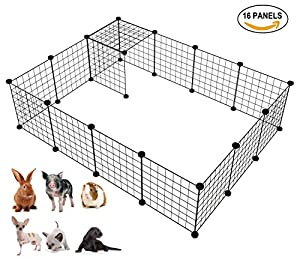 4. LANGXUN DIY Small Animal Cage