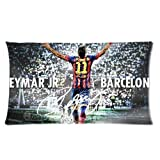 andersonfgytyh Neymar Jr Soccer Poster Soft Pillow case Cover 20*36 Inch (Twin sides)Zippered Pillowcase