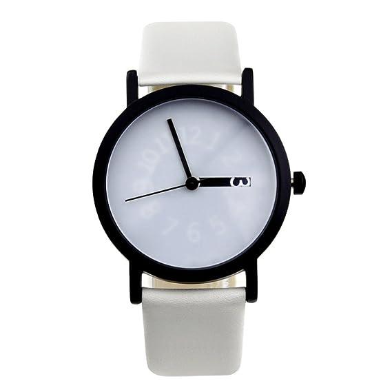 Robar el alma Digital/Única exhibición del reloj/Transformar el reloj digital/Creativa hora tabla neutral-C: Amazon.es: Relojes