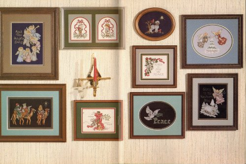 And The Angels Sang (Cross Stitch Charts) (Book 16) - Cross Stitch Chart Book